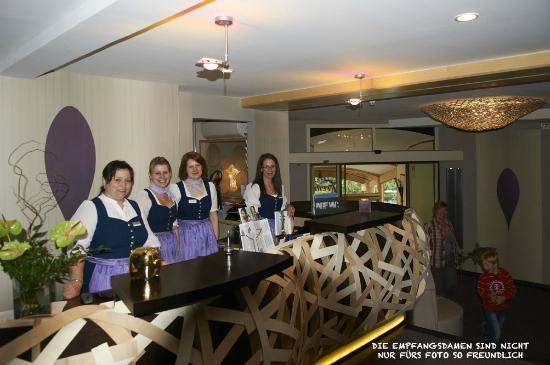 Romantik Hotel Freund & SPA-Resort: Empfangsdamen