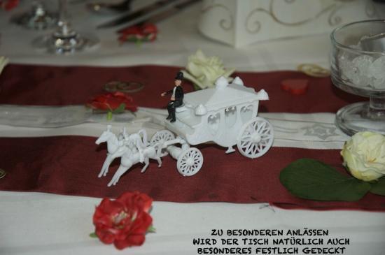Romantik Hotel Freund & SPA-Resort: Tischdekoration