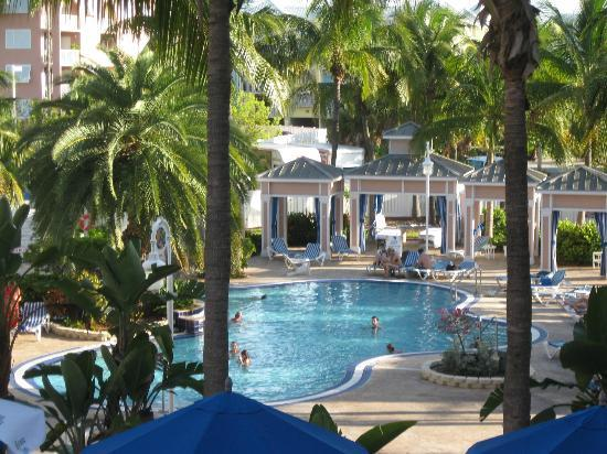 DoubleTree by Hilton Hotel Grand Key Resort - Key West: view from our room on 2nd floor