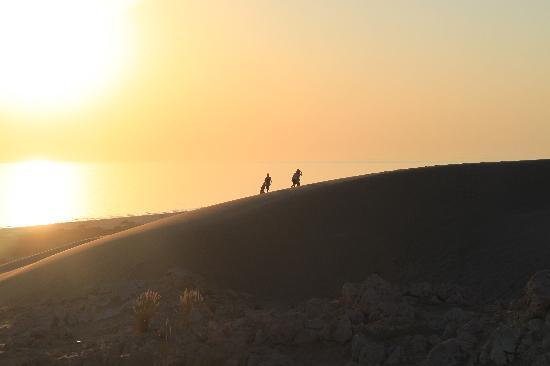 Xanthos Boutiquehotel: Sonnenuntergang in den Dünen