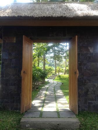 Umajati Retreat: Umajati entrance