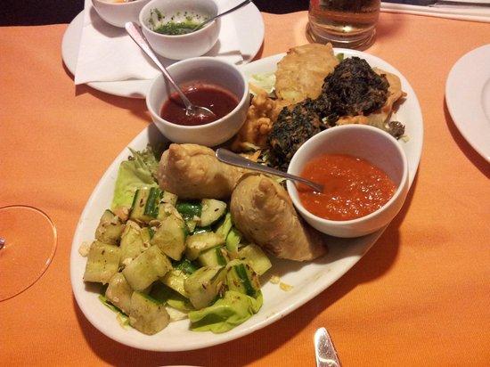 Himal Nepal Kitchen: Vorspeisen-Variation