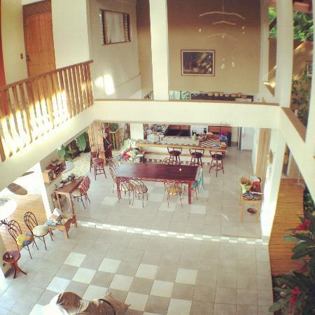 Casa de la Luna: Kitchen and Open Living Area