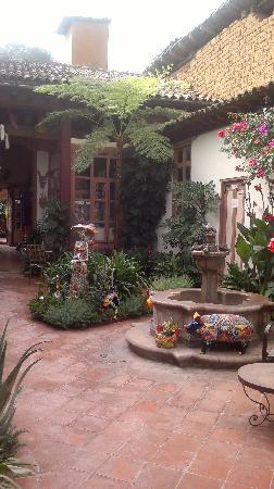 Hotel Casa Encantada: la fuente del hotel