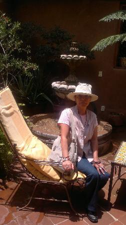 Hotel Casa Encantada: disfrutando del sol