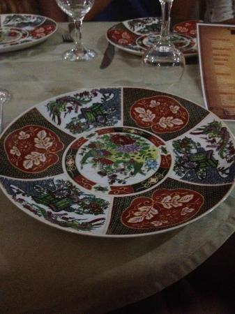 Grand Hotel Tazi: Dining Plates