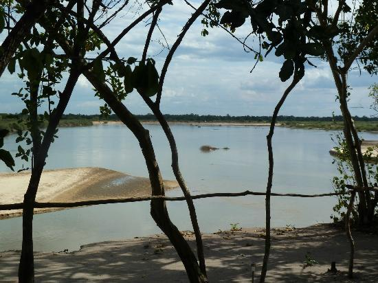 Selous Great Water Lodge: View from the family room