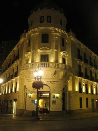 NH Collection Granada Victoria: l'hotel di notte,meraviglioso!