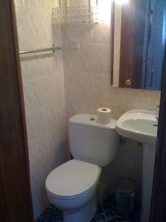 Hostal MH Fuencarral : bagno piccolino