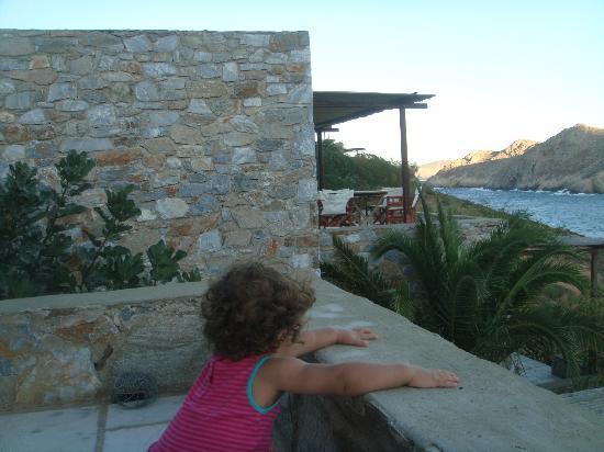 Ta Petrina: Our baby girl at front veranda