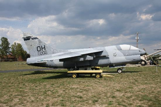 Motts Military Museum: Un A-7 de la guarde nationale