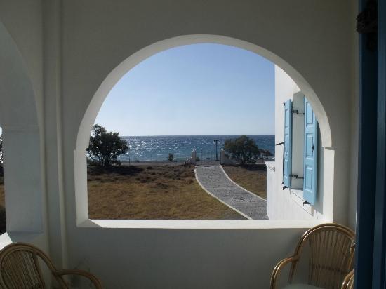 Atlantis Beach Villa: Blick vom Balkon