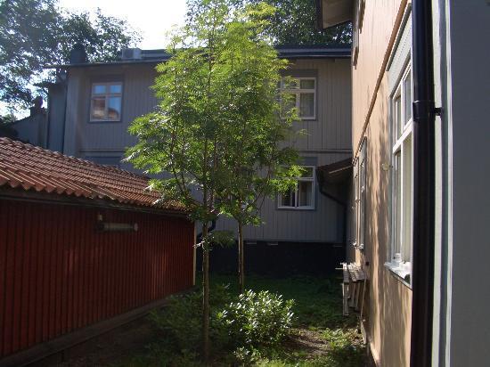 Hotell och Vandrarhem Zinkensdamm: giardino interno