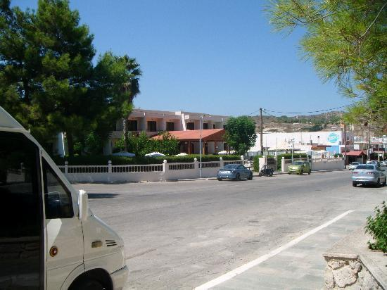 Golden Days Hotel: View from across street