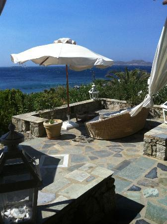 Apollonia Hotel & Resort: Chillout area