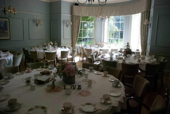 Washingborough Hall Country House Hotel: nearly time for tea!