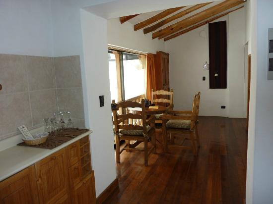 Casa San Blas Boutique: Senior Suite Kitchen & Dining Room