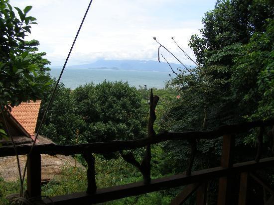 Le Bout du Monde - Khmer Lodge : Vue de la terrasse de la suite Sambo 2