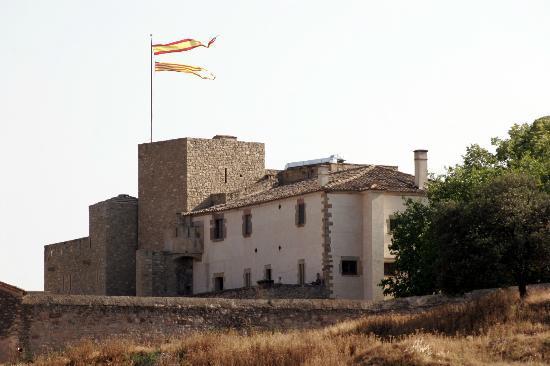 Oller del Mas: The castle