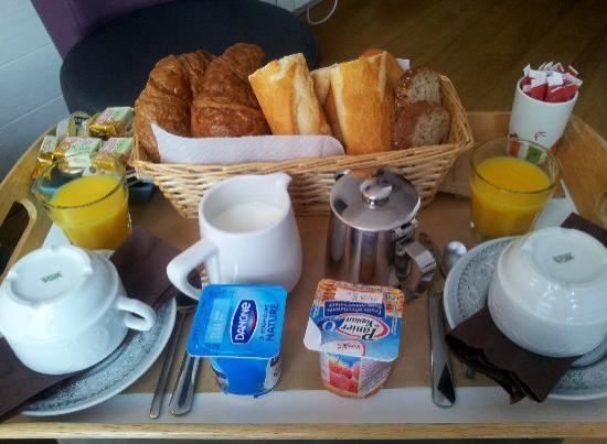 Hotel Monet: petit déjeuner