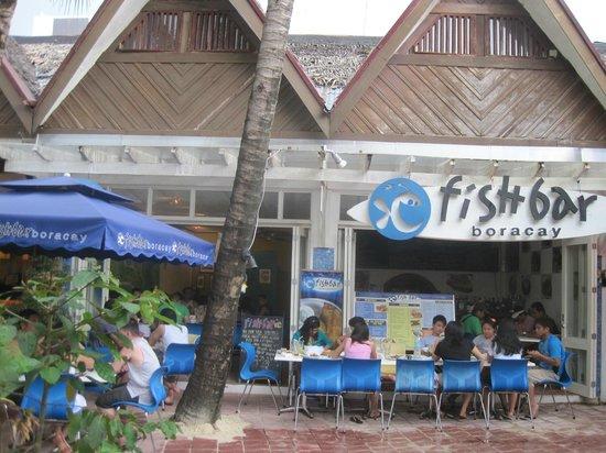 Fishbar: outside