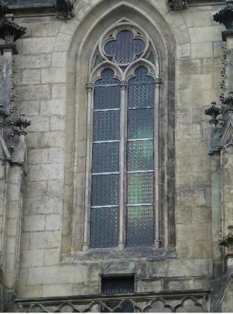 St. Wenceslas Cathedral: window