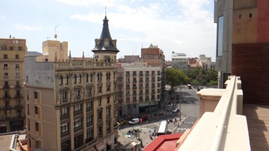 DestinationBCN Apartments & Rooms: View from terrace - Apartment Naoko