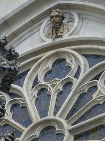 St. Wenceslas Cathedral: closeup