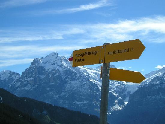 Grindelwald, Suiza: Bussalp