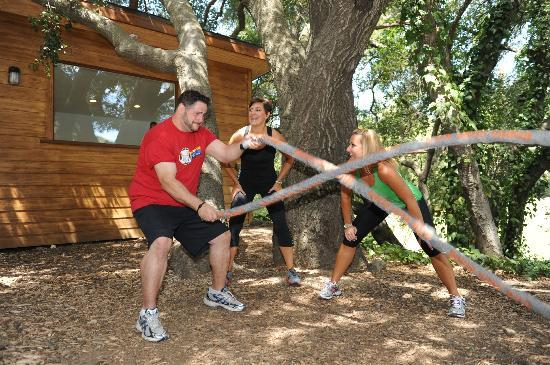 Wellfit Malibu: Outdoor Exercise Facility