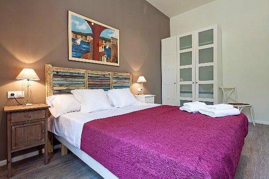 Aspasios Rambla Catalunya Suites: Dormitorio