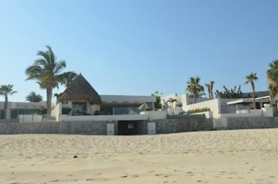 View Of Villa Amanda From Beach