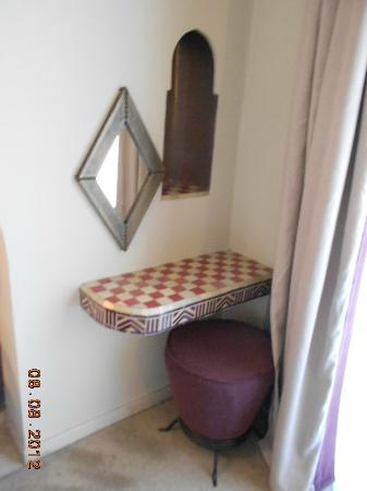 Hivernage Hotel & Spa: Petit coin de chambre