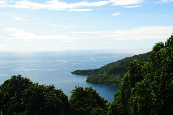 Lalati Resort & Spa : view from the mountain hike