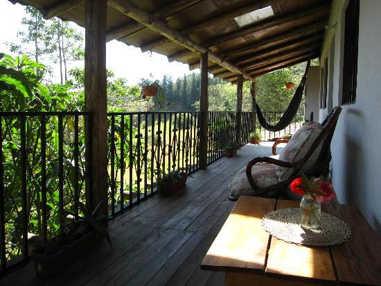 La Luna Mountain Lodge: Balcony