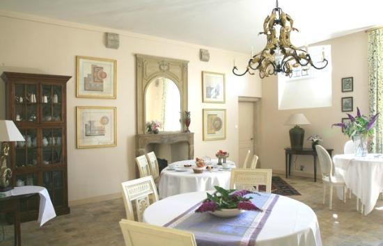 Le Manoir de la Fieffe: Salle à manger