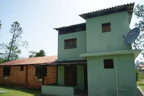 Jarabacoa Mountain Hostel: view from Kitchen window