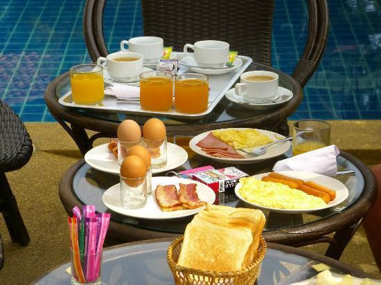 Lamai Beach Residence: le petit déjeuner