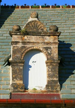 Le Manoir de la Fieffe : Lucarne caractéristique de l'architecture locale