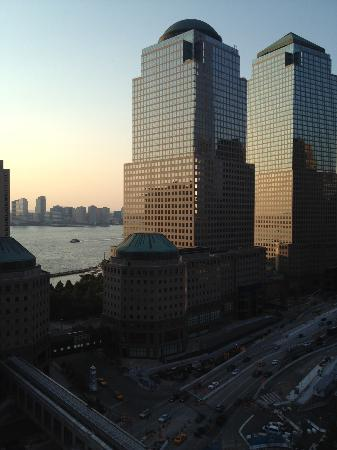 World Center Hotel: Another view from the terrace