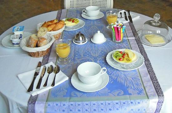 Le Manoir de la Fieffe : Petit déjeuner