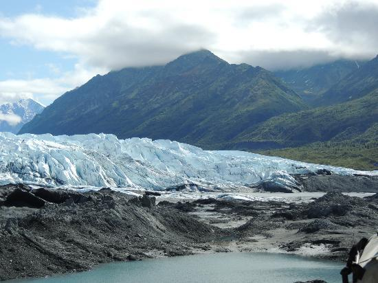 Mica Guides: View of the Glacier