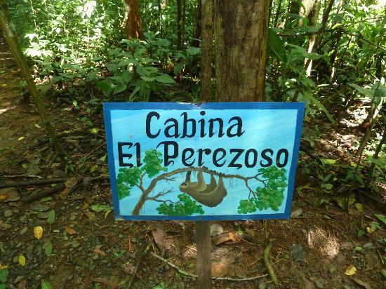 """Playa Nicuesa Rainforest Lodge: Our cabin name means """"lazy"""" very appropriate!"""