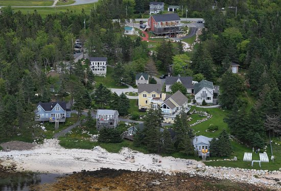 Indian Harbour, Canada: Aerial View of Oceanstone Resort