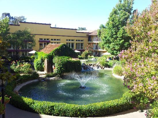 Garden lake picture of embassy suites by hilton napa valley napa tripadvisor Hilton garden inn napa valley