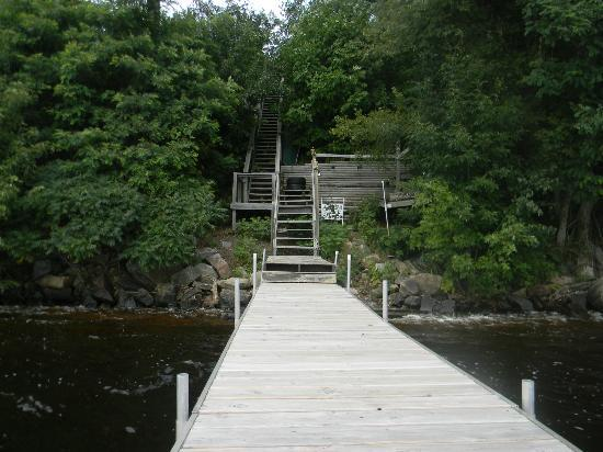 Inn on Lake Wissota: Dock