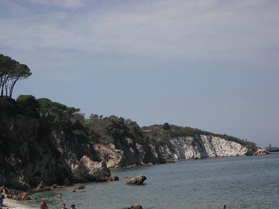 Hotel Villa Ombrosa: Baia delle Ghiaie