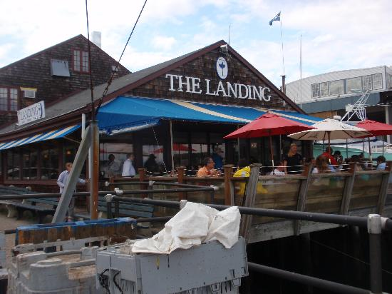 The Landing: outside