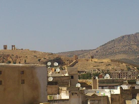 Maison d'hotes Famille Tazi : Vue panoramique sur le moyen Atlas