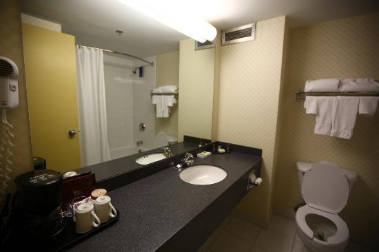 Sandman Hotel Montreal-Longueuil: Bathroom